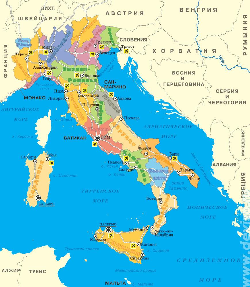 Італія про країну | тури | фотогалерея